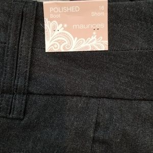 Maurices Pants - Maurice gray polished slacks
